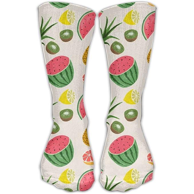 1aa5b49caef8 Amazon.com  SESY Pineapple Watermelon Banana Unisex Crew Socks Short ...