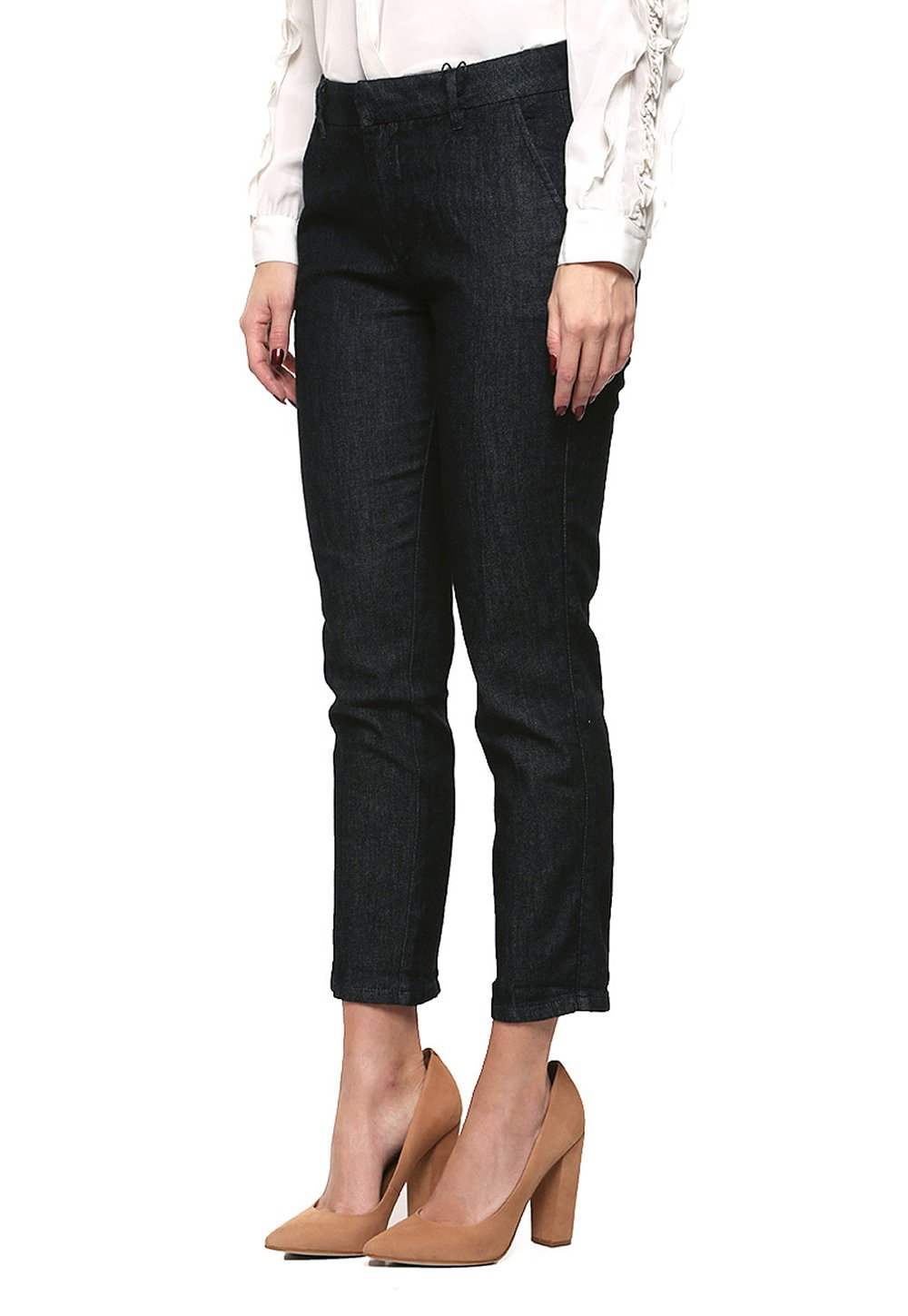 Guess Women's Tailored Cigarette Skinny Jeans (24, Dark Rinse)