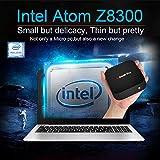 ACEPC T8 Fanless Mini PC,Intel x5-Z8350 HD Graphics Desktop Computer,Windows 10 64-bit,DDR3L 2GB/32GB eMMC/4K/Built-in WiFi/BT 4.0
