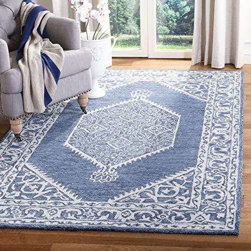 Safavieh Micro-Loop Collection MLP605M Handmade Premium Wool Area Rug