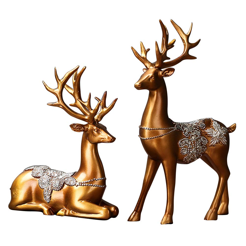 Gold Christmas Table Top Decor