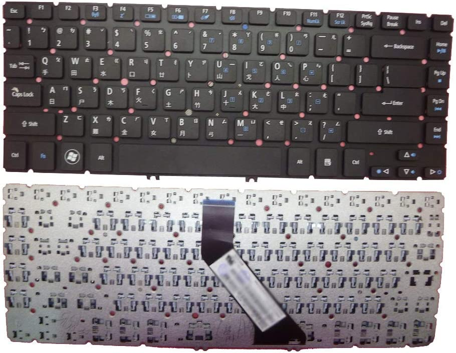 Laptop Keyboard for ACER Aspire M5-481 M5-481G M5-481PT M5-481PTG V5-471 V5-471G V5-471P V5-471PG EC-470G Traditional Chinese TW NO Frame