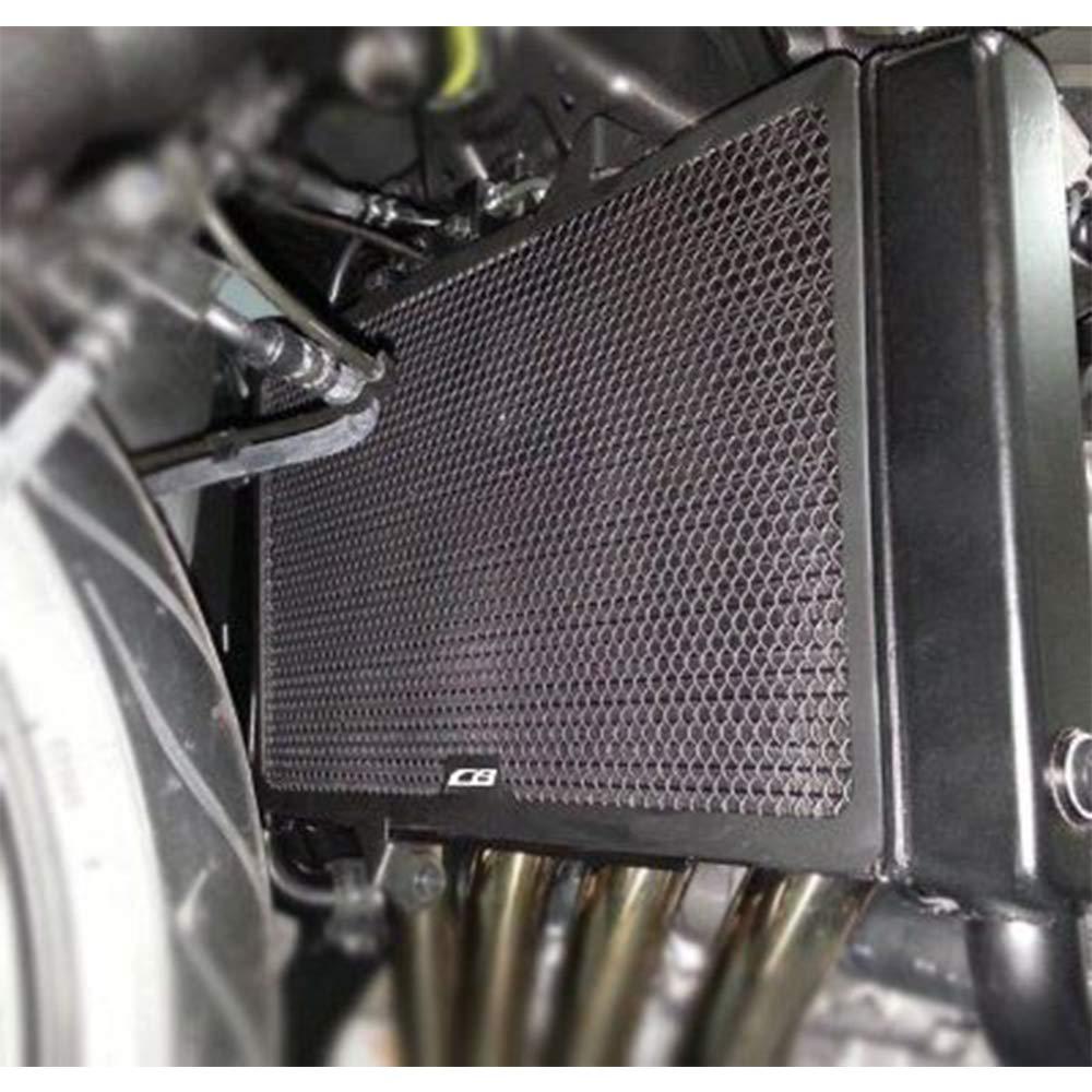 CB650F Motocicleta Aleaci/ón de Aluminio Cubierta de la Rejilla del Radiador para Honda CB650F 2014 2015 2016 2017 2018 CB650R 2019-Radiador Negro