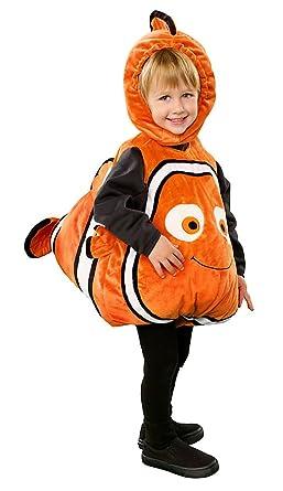 Amazon.com: Disney Store Finding Nemo Halloween Costume Size 12-18 ...