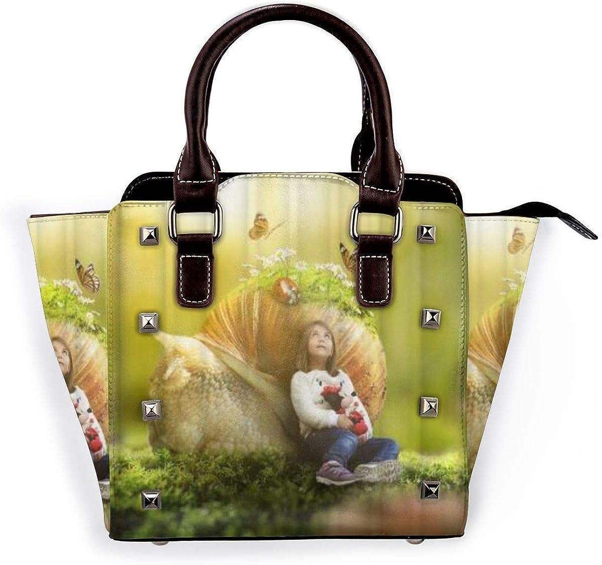 BROWCIN Chipmunk siberiano en un tocón de árbol colorido Desmontable Moda Tendencia Bolso de las señoras Bolso de hombro Cor15