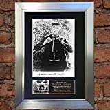 BUSTER KEATON Signed Autograph Mounted Reproduction Photo A4 Print no20 (Silver frame)