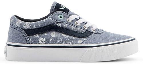 3bae805a80 Vans Milton - Doodle Floral - Blue - Youth  Amazon.co.uk  Shoes   Bags
