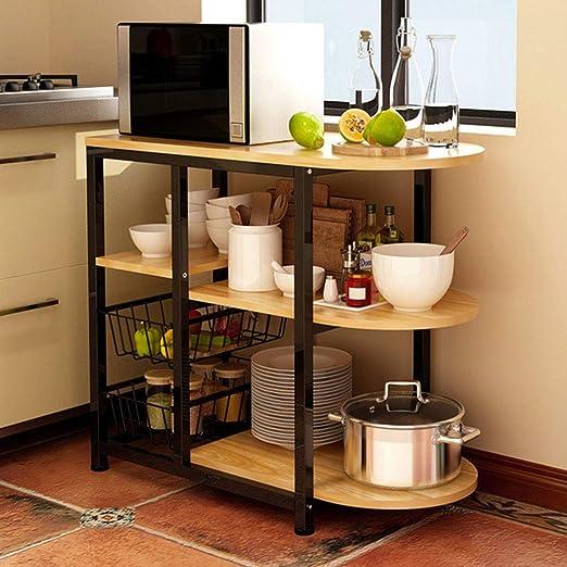 Estante de cocina para microondas, horno, cocina, estante de ...