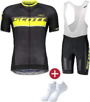 Ropa Ciclismo Verano para Hombre Maillot Ciclismo+Ciclismo Culote ...