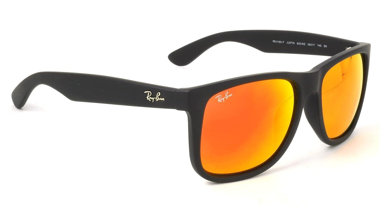 【Ray-Ban国内正規品販売認定店】RB4165F 622/6Q 58サイズ Ray-Ban (レイバン) サングラス JUSTIN COLOR MIX ジャスティン フルフィッティングモデル ミラー メンズ レディース B01GPS9TFC