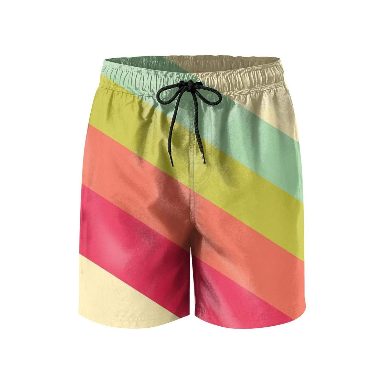 PPANFKEI Dream Big Surfing Trunk Breathable Watershorts with Adjustable Waistband