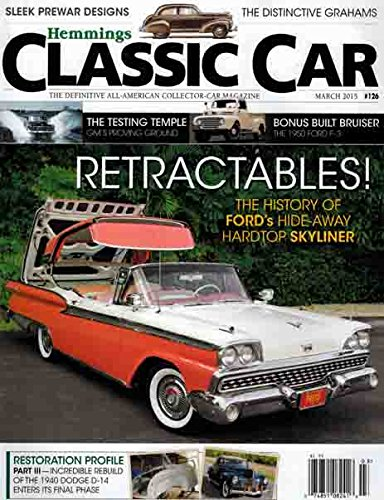 - Hemmings Classic Car Magazine March 2015