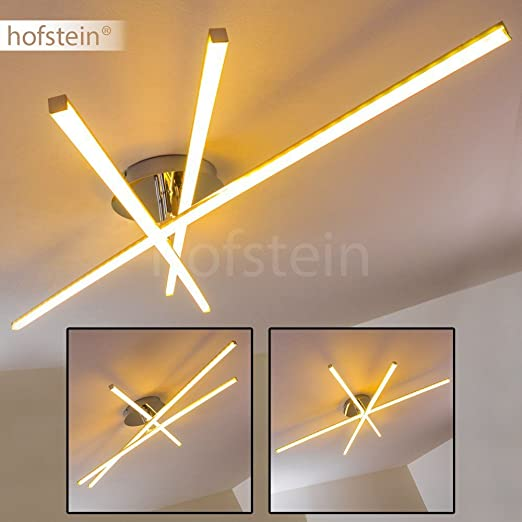 Led ceiling light elegant pivotable crossed straight bars led ceiling light elegant pivotable crossed straight bars contemporary ceiling lamp 24 watt for living mozeypictures Choice Image
