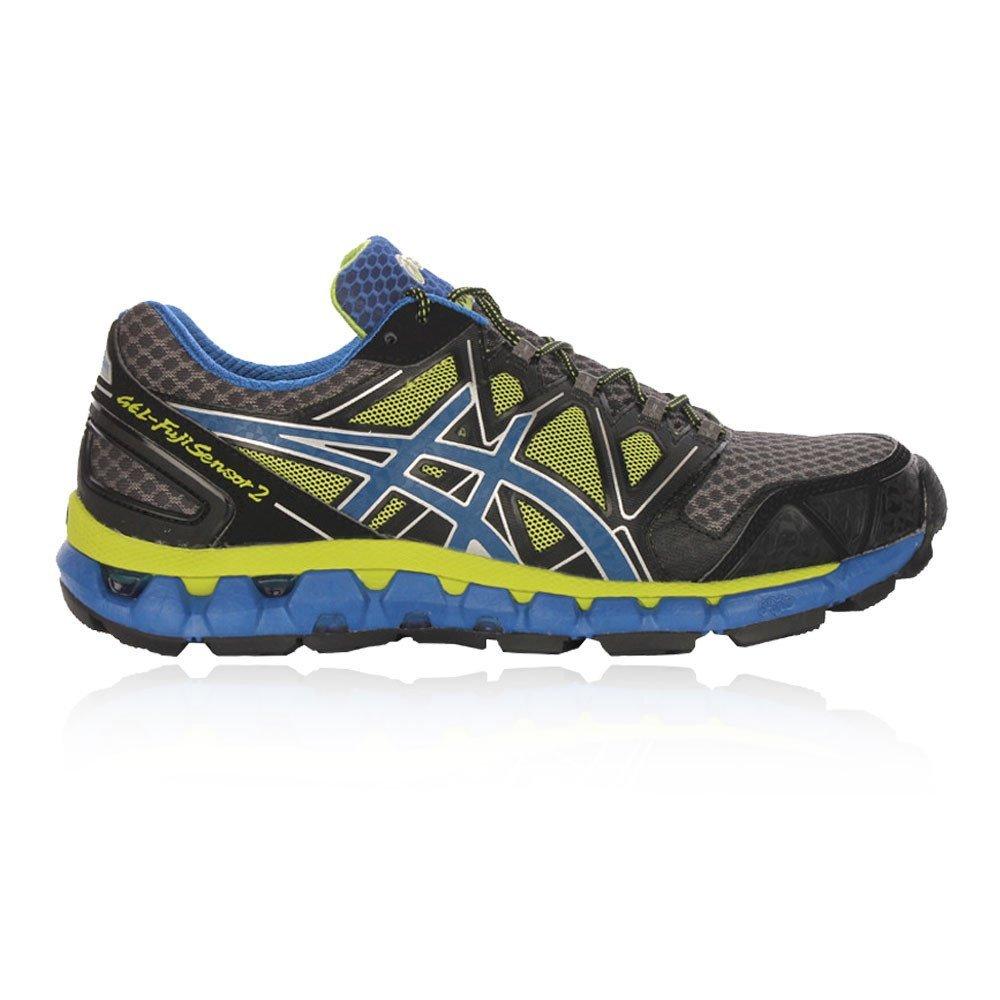 Asics Zapatillas Deportivas Running Gel Fujisensor 2 Negro/Amarillo EU 41.5: Amazon.es: Zapatos y complementos