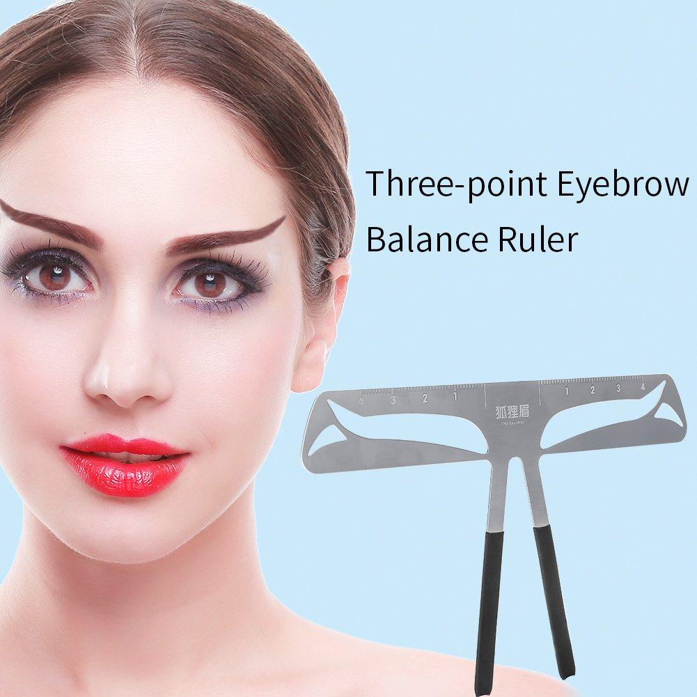 Buy Eyebrow Stencil Eyebrow Ruler Permanent Makeup Tattoo Eyebrow