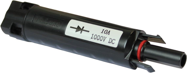 3x Fiche de Diode MC4 Compatible Courant Choix H4 Connecteur Solaire UV Best