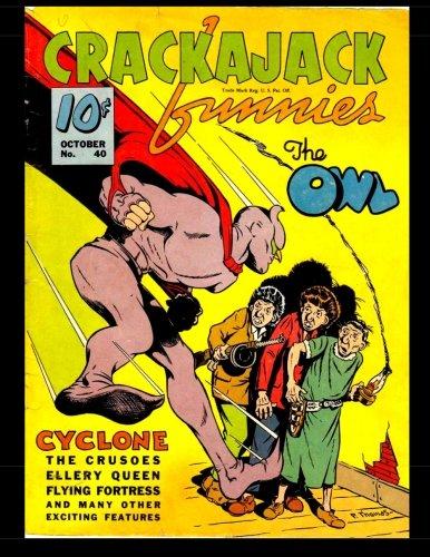 Crackajack Funnies #40: Classic Golden Age Comic ebook