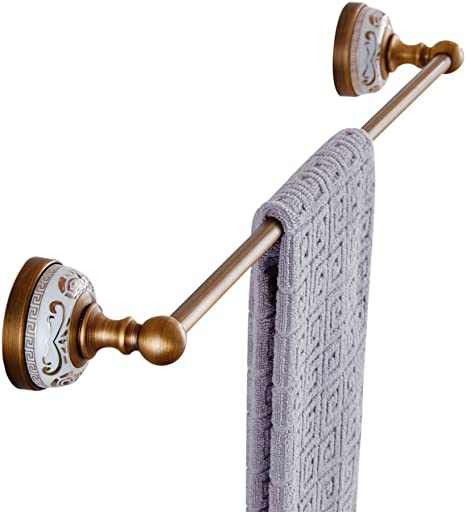 """Towel Bar Dark Bronze 24/"""" Wall Mounted Towel Rack Variety Style Available"""