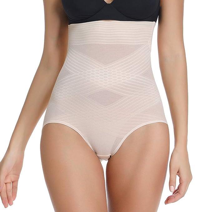 83346ed7c18 High Waist Body Shaper Breathable Seamless Tummy Control Waist Slimming  Shapewear