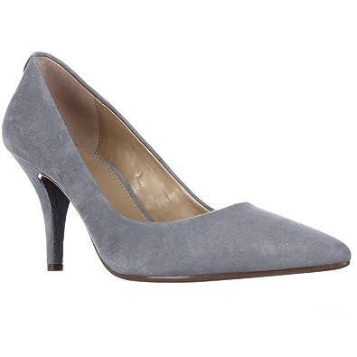 d112a2d440346 Michael Kors Flex Dusty Blue Pump Shoes (6)