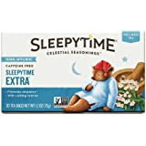 Celestial Seasonings Sleepytime Extra Wellness Tea Herbal Supplement, 20 Count (Pack of 2)