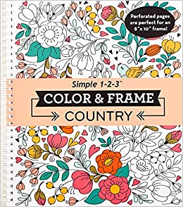Color & Frame Coloring Book - Country: New Seasons ...