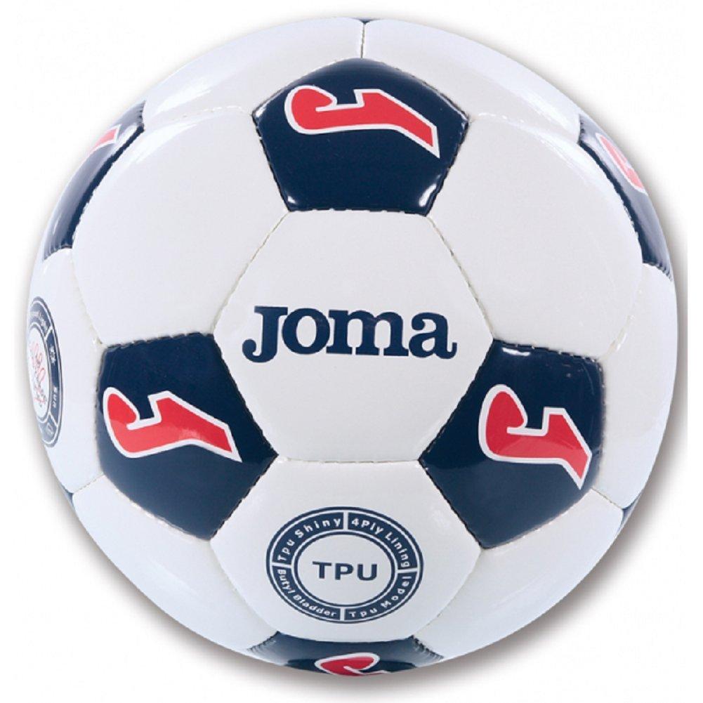 Joma Inter Entrenamiento de Fútbol Balón (Blanco + Azul Marino + ...