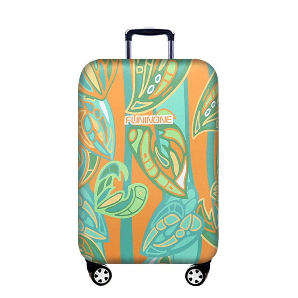 18-21 Luggage Cover Protector Travel Elastic Spandex Suitcase Protector Dust-proof Luggage Cover Keep Luggage Clean Fits 18 To 32 Inch Luggage Washable Baggage Covers Color : A , Size : S