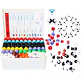 LINKTOR Chemistry Molecular Model Kit (444 Pieces), Student or Teacher Set for Organic and Inorganic Chemistry Learning, Moti