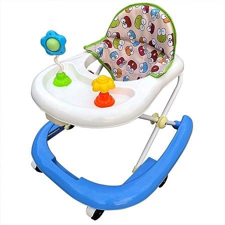 Baby Walker Coche, Andador de bebé antivuelco para niños y niñas ...