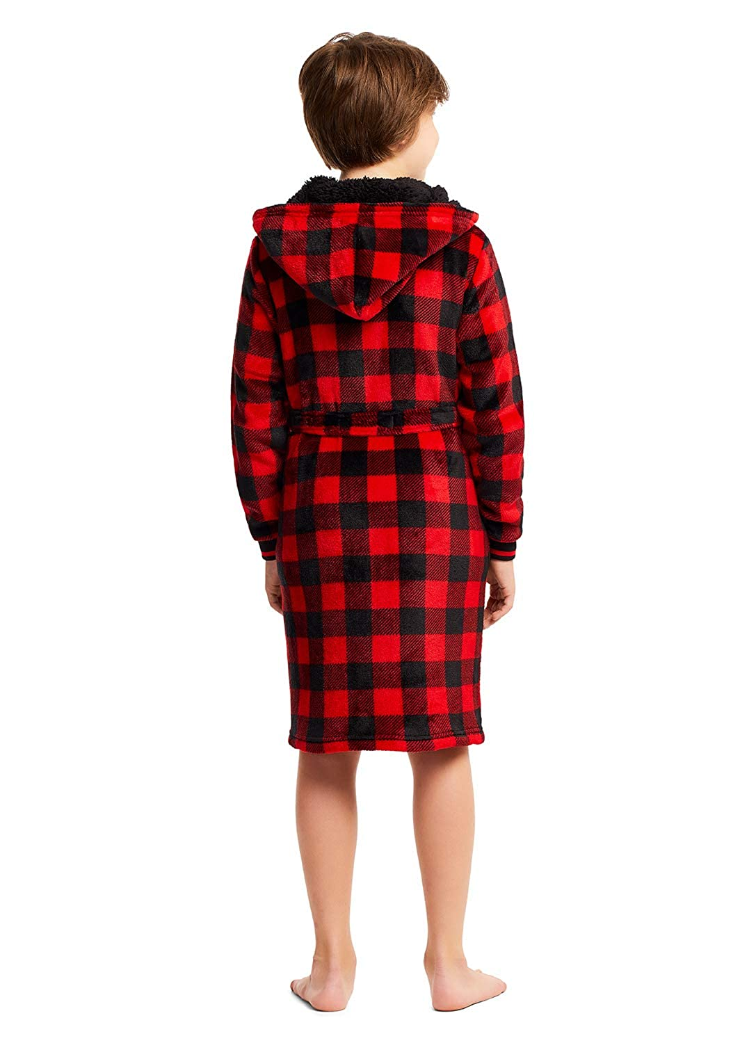 Holiday Plaid Robes Family Lets Get Cozy Matching Robes