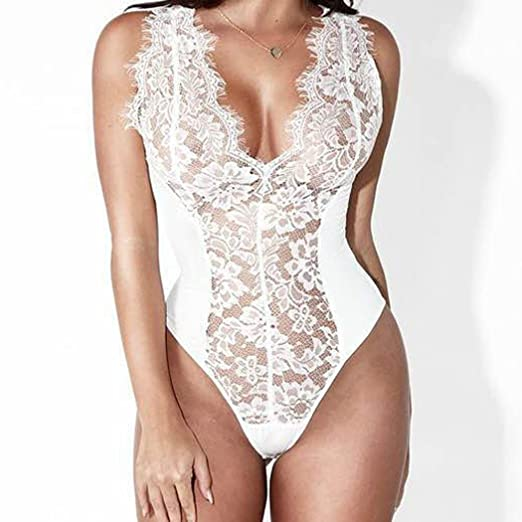Amazon.com: Women Nightwear WILLTOO Sexy Lingerie G-String Babydoll Sleepwear Stylish Bodysuit: Clothing
