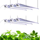 Barrina Plant Grow Light, 252W(6 x 42W, 1400W Equivalent), Full Spectrum, LED Grow Light Strips, T8 Integrated Growing…