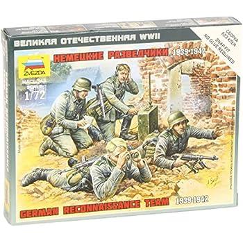 Speelgoed en spellen Zvezda Models 1/72 German Machine Gun Crew Eastern Front 1941 ZVE 6106