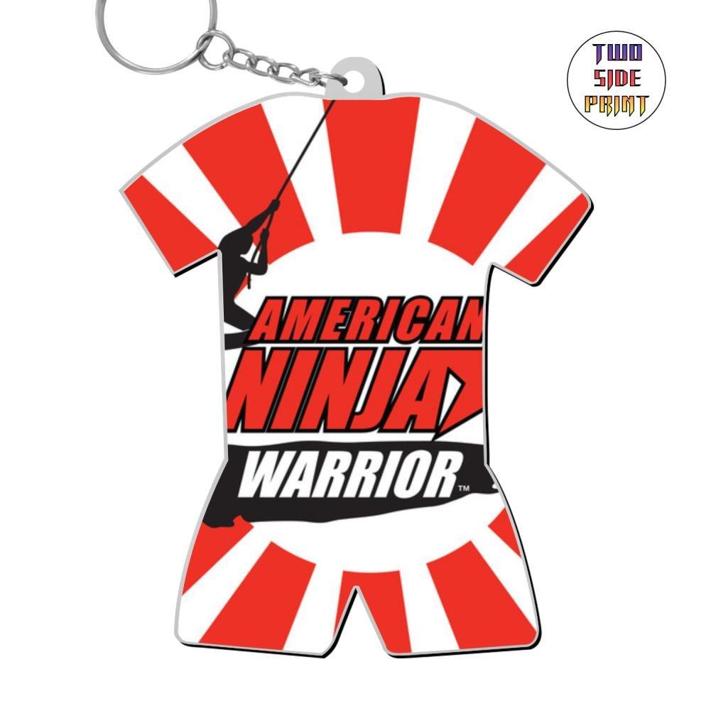 Amazon.com: Cute Keychain American Ninja Warrior Keyring ...