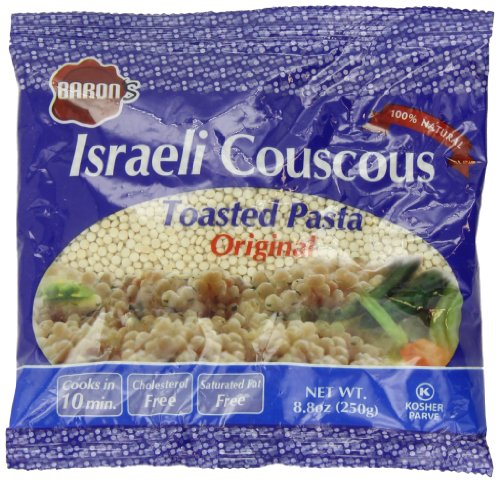 Israeli Toasted Pasta (Baron Israeli Couscous Toasted Pasta, Original, 8.8 Ounce (Pack of 24))