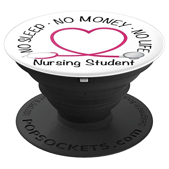 Swell Nurse Student Nursing Student Popsockets Grip And Stand For Phones And Tablets Home Interior And Landscaping Ologienasavecom