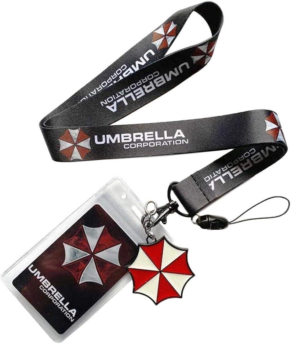 Resident Evil Umbrella Corporation Logo Alloy Key Chains Keychain Keyfob Keyring