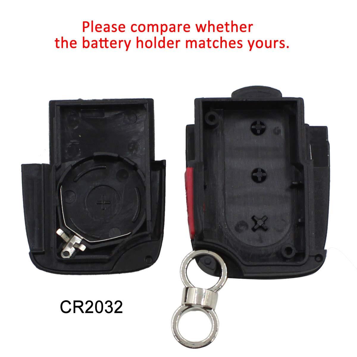 Amazon.com: Cuchilla plegable para llave de coche con diseño ...