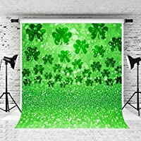 Kate 5x7ft St.Patricks Day Photography Backdrop Clover Green Spring Background Customized Photo Studio Prop