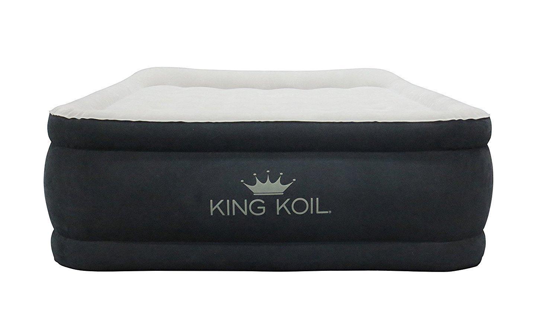 King Koil Queen Size Luxury Raise Air Mattress Best ...