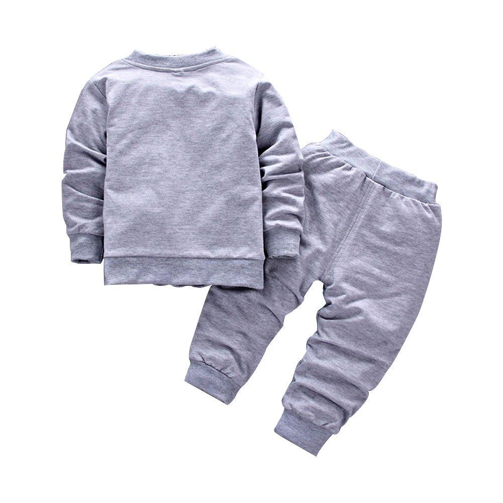 3ba049983 BINIDUCKLING Bebé Abrigo de niños+Pantalones + Camisas Conjuntos de ropa  para niños Pequeños conjuntos. Ampliar imagen