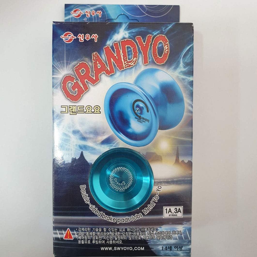 ENTERBIZ Grand Yoyo Metal Aluminum Yo Yo Blue