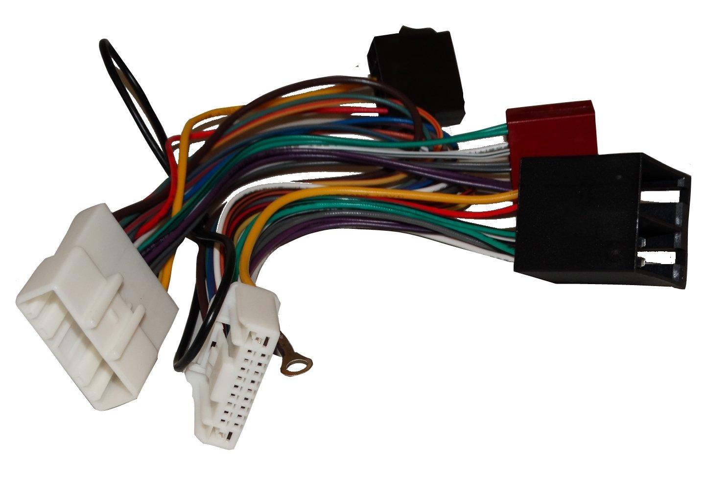 vehiculos C11931 AERZETIX Adaptador Cable Enchufe ISO para Radio de Coche