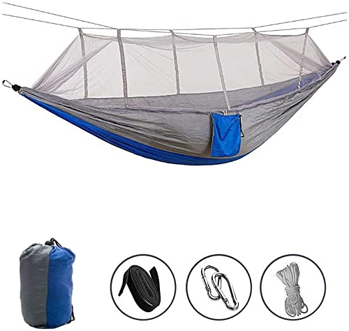 UNIONBAIB Camping Hammock Portable Indoor Outdoor Tree Hammock, 440 Pounds Capacity, Sturdy Lightweight for Outdoor Backpacking Camping Trip Hiking Indoor Garden