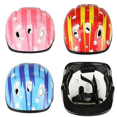 Rancheng Outdoor Skating Helmets Child Skateboard Safe Helmet Bike Bicycle Helmet Inline Scooter Sport Protectors Blue : Sports & Outdoors