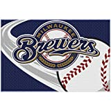 "The Northwest Company MLB Milwaukee Brewers Tufted Rug, 20"" x 30"""