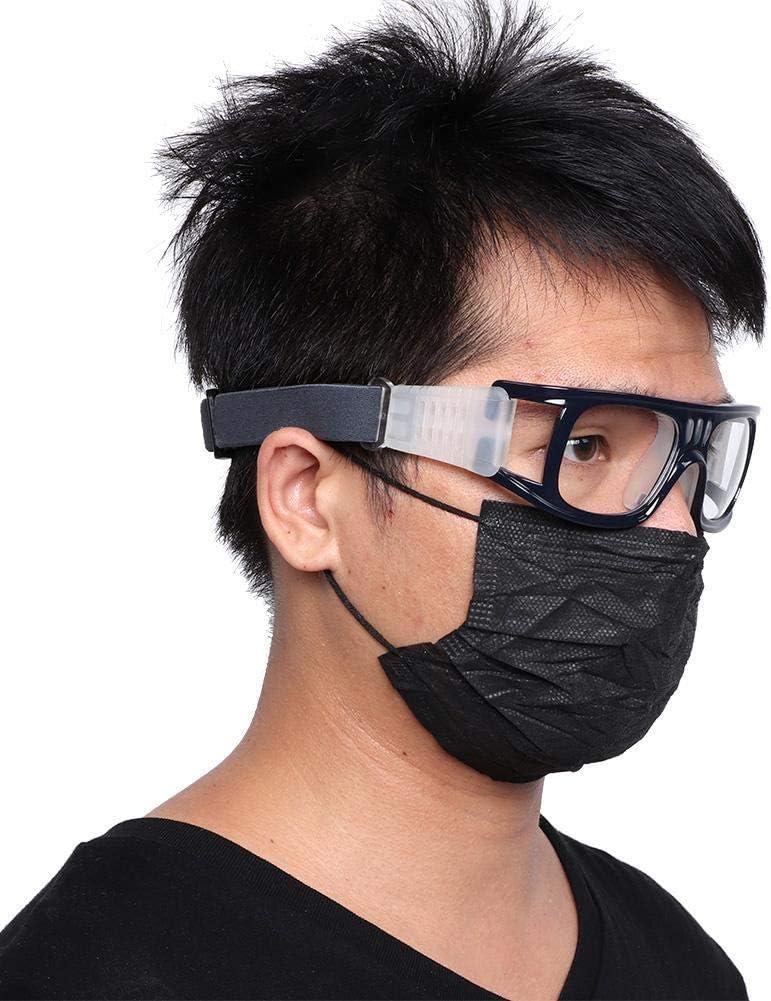 Alomejor Sportarten Basketball Brillen Schutzbrillen mit Verstellbaren Elastischen Tragegurt f/ür Fu/ßball Basketball