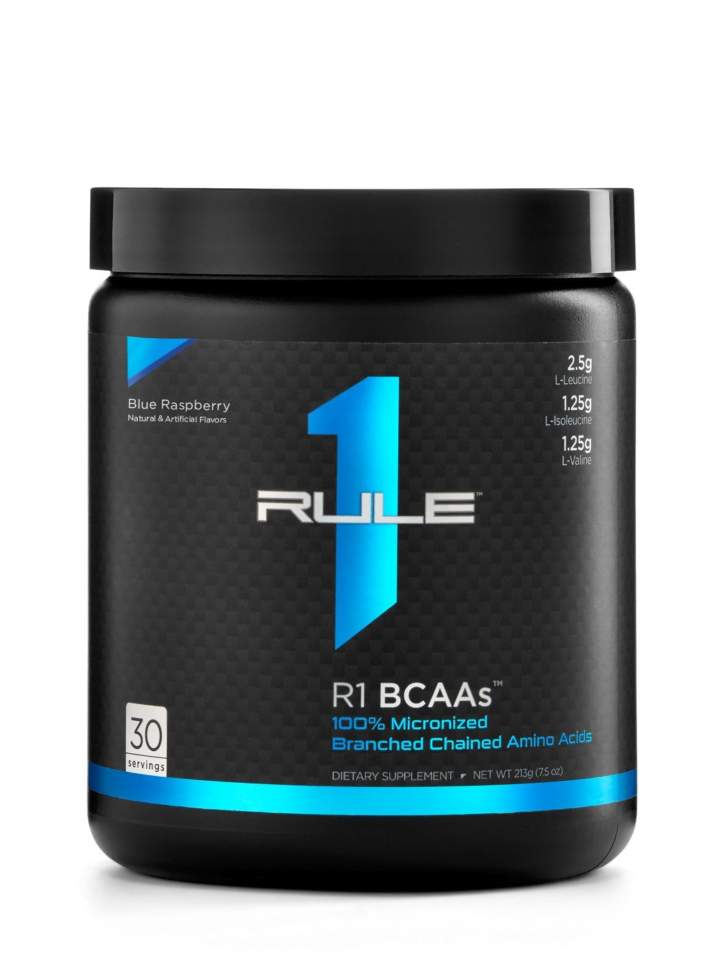 R1 BCAAs, Rule 1 Proteins (Blue Raspberry, 30 Servings)