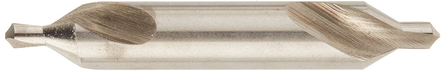 2 Length Plain TiN HSS KEO 10300-TiN #3 RH Combined Drill and Countersink 60 Degree Cutting Angle 2 Cutting Length Pack of 12 0.25 Cutting Diameter